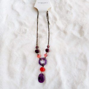 3/$21 Sonoma NWT Circle Statement Necklace